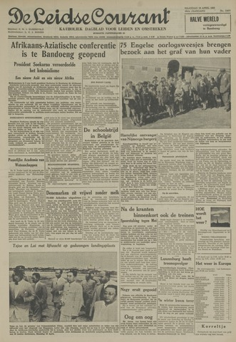 Leidse Courant 1955-04-18