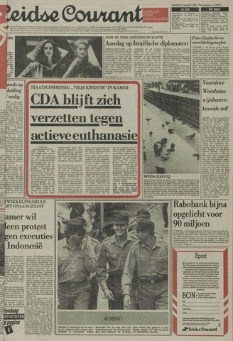 Leidse Courant 1985-08-20