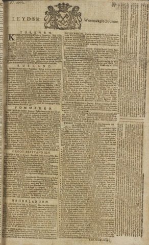 Leydse Courant 1772-01-15
