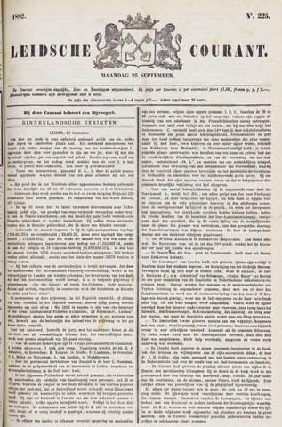 Leydse Courant 1882-09-25