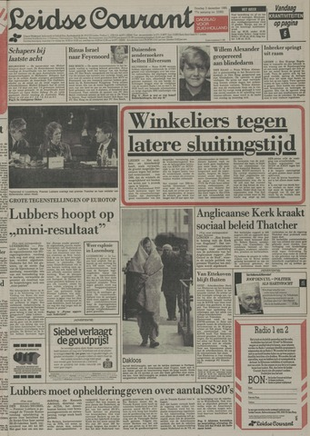 Leidse Courant 1985-12-03
