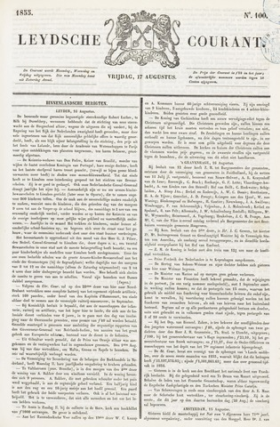 Leydse Courant 1855-08-17