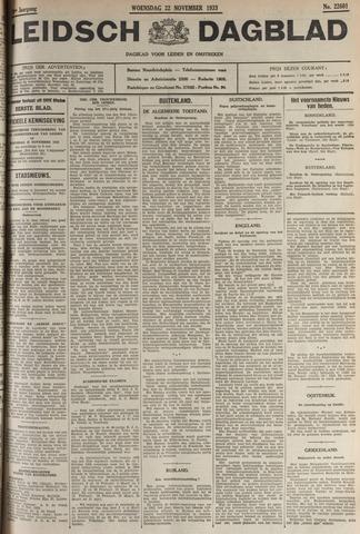 Leidsch Dagblad 1933-11-22