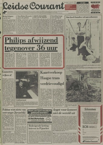Leidse Courant 1985-12-05