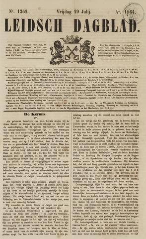 Leidsch Dagblad 1864-07-29