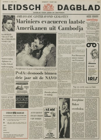 Leidsch Dagblad 1975-04-12