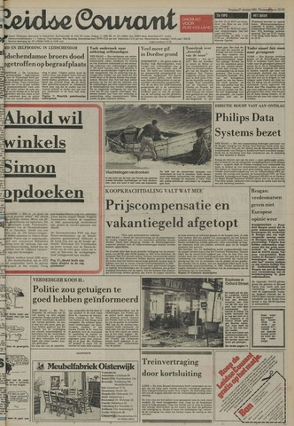 Leidse Courant 1981-10-27
