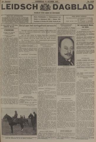 Leidsch Dagblad 1935-10-31