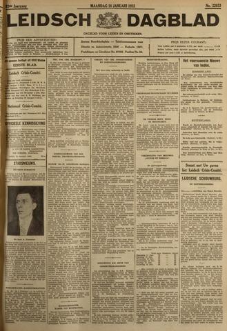 Leidsch Dagblad 1932-01-18