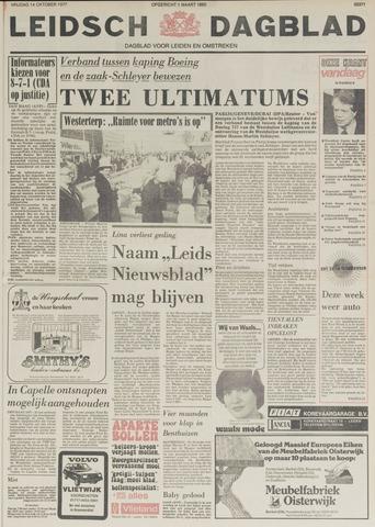 Leidsch Dagblad 1977-10-14