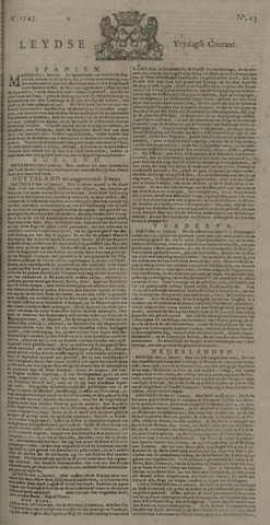 Leydse Courant 1745-01-29