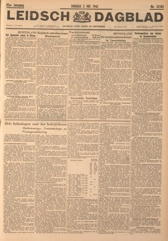 Leidsch Dagblad 1942-05-05