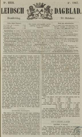 Leidsch Dagblad 1867-10-10
