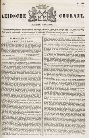 Leydse Courant 1875-10-19