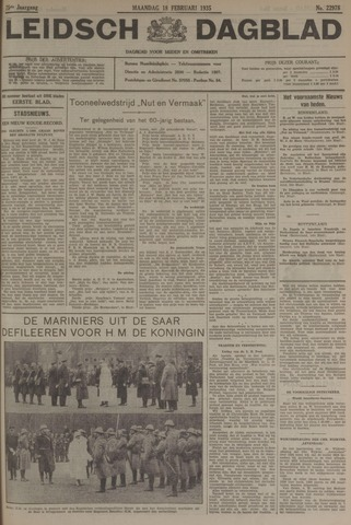 Leidsch Dagblad 1935-02-18