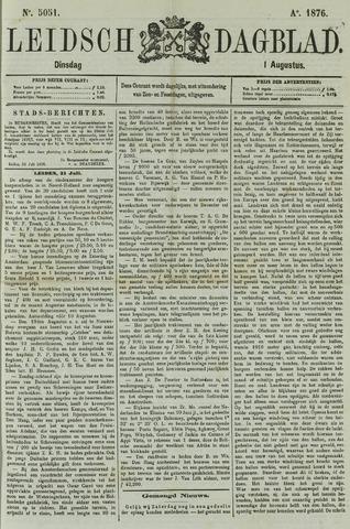 Leidsch Dagblad 1876-08-01