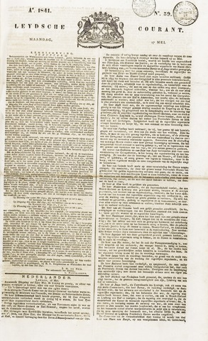Leydse Courant 1841-05-17