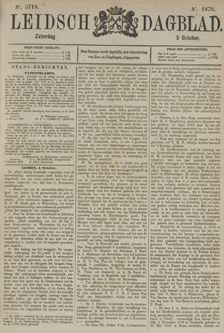Leidsch Dagblad 1878-10-05