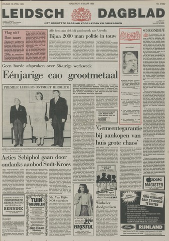 Leidsch Dagblad 1985-04-19