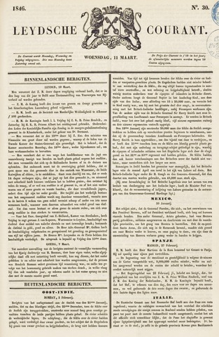 Leydse Courant 1846-03-11