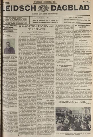 Leidsch Dagblad 1933-12-06