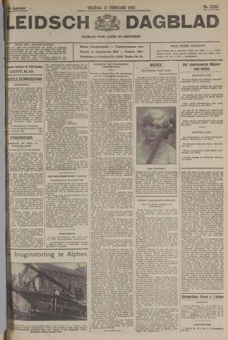 Leidsch Dagblad 1933-02-17