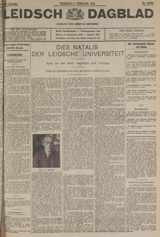 Leidsch Dagblad 1933-02-08