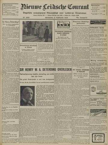 Nieuwe Leidsche Courant 1939-02-06