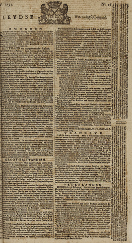 Leydse Courant 1752-03-01