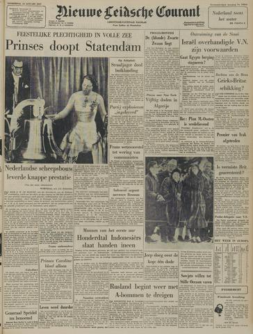 Nieuwe Leidsche Courant 1957-01-24