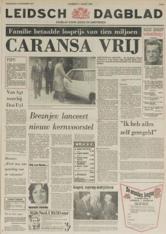 Leidsch Dagblad 1977-11-02