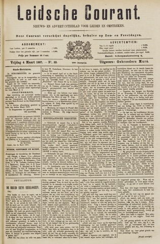 Leydse Courant 1887-03-04