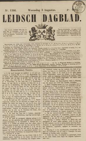 Leidsch Dagblad 1864-08-03