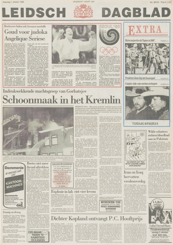Leidsch Dagblad 1988-10-01