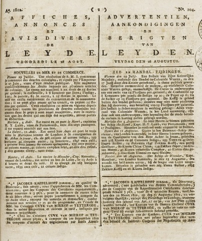 Leydse Courant 1812-08-28