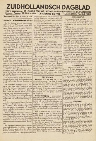 Zuidhollandsch Dagblad 1944-11-08