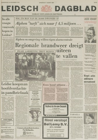 Leidsch Dagblad 1978-11-30
