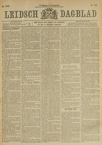 Leidsch Dagblad 1904