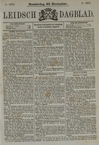 Leidsch Dagblad 1880-11-25