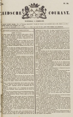 Leydse Courant 1885-02-11