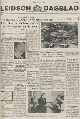 Leidsch Dagblad 1955-07-22