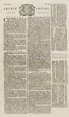 Leydse Courant 1820-04-28