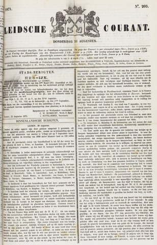Leydse Courant 1871-08-31