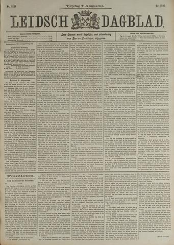 Leidsch Dagblad 1896-08-07