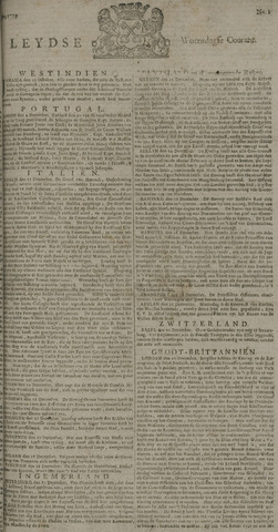 Leydse Courant 1729-01-05