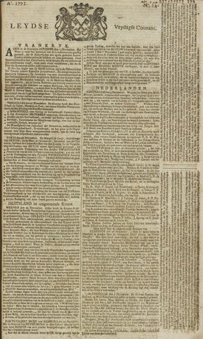 Leydse Courant 1771-12-06