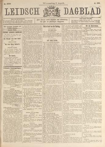 Leidsch Dagblad 1915-04-07