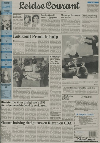 Leidse Courant 1992-05-13