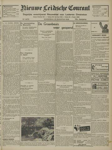 Nieuwe Leidsche Courant 1938-08-25