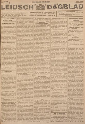 Leidsch Dagblad 1926-11-08